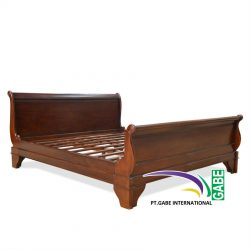 ID02005---France-Sleigh-Bed-Mahogany_2